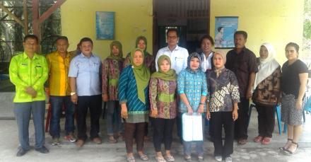 DPRD Kab. Serdang Bedagai sambangi Desa Besar II Terjun.