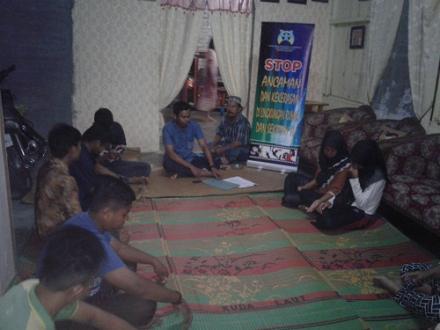 PATBM Desa Besar II Terjun Lakukan Sosialisasi ke Remaja Masjid
