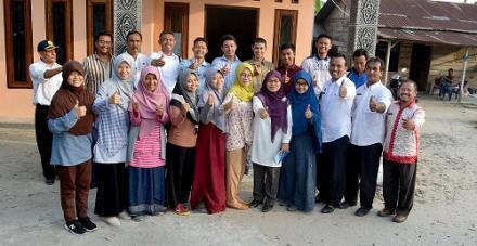 Mahasiswa IPB Berkunjung ke Desa Besar II Terjun - Sergai