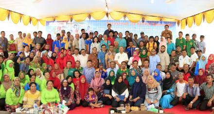 Saresehan 33 BITRA Indonesia Dibuka Oleh Bupati Sergai di Besar II Terjun